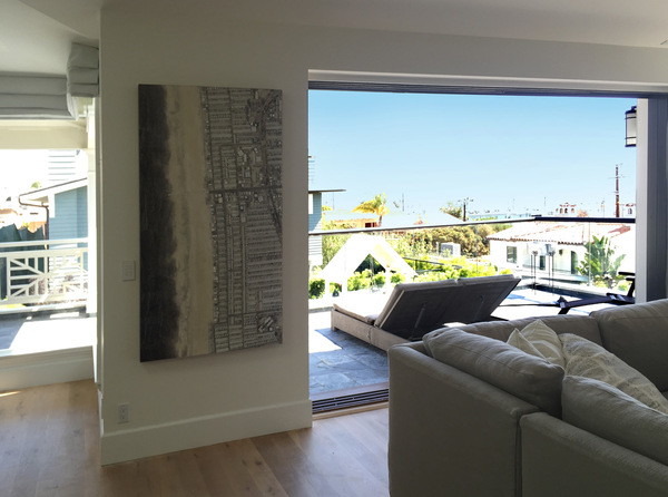 urbicus: Manhattan Beach 66X36 Installation Image